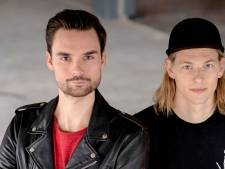 Utrechtse 3FM-dj's Domien en Sander  draaien vrijdag tijdens Skate Parade
