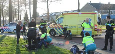 Drie gewonden bij scooterbotsing in Tiel