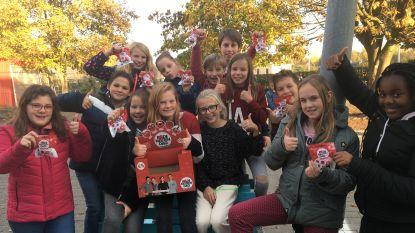 Basisschool Hofkouter schenkt 1.420 euro aan Rode Neuzen Dag