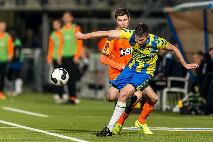 Johan Voskamp is voor de volgende topwedstrijd tegen VVV weer terug in de basis bij RKC Waalwijk.