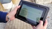 Wijkagenten Grimbergen testen tablets uit