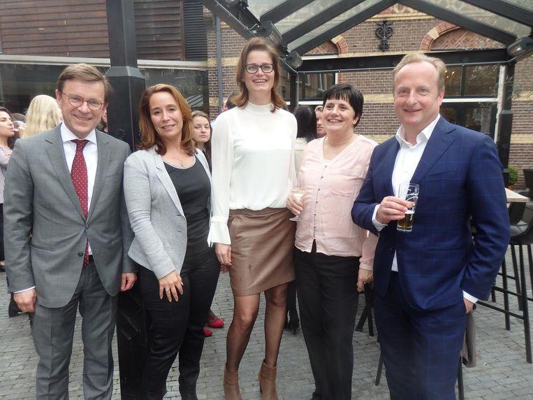 Nog meer Hertoghs Advocaten: Roel Kerckhoffs, Debbie Muller, Patty Wijnen, Ilona Broer en Peter van der Westerlaken. Beeld Schuim