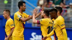 LIVE. 'Tridente' van Barça aan het feest in Eibar: goals van Griezmann, Messi en Suárez
