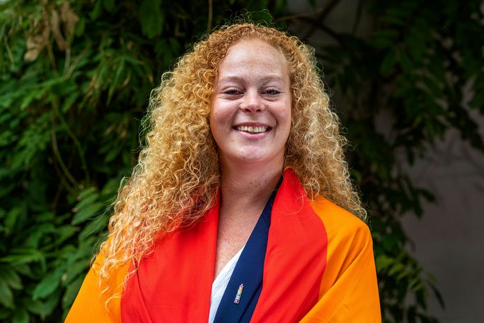Laura van Nieuwenhuijze, voorzitter COC Midden-Nederland en voorzitter van de LHBTI-belangenorganisatie.
