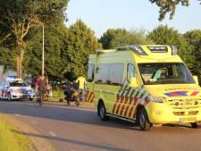 Motorrijder vliegt bocht uit in Nijeveen en raakt gewond