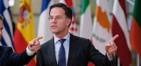 Rutte: niets opgeschoten op begrotingstop