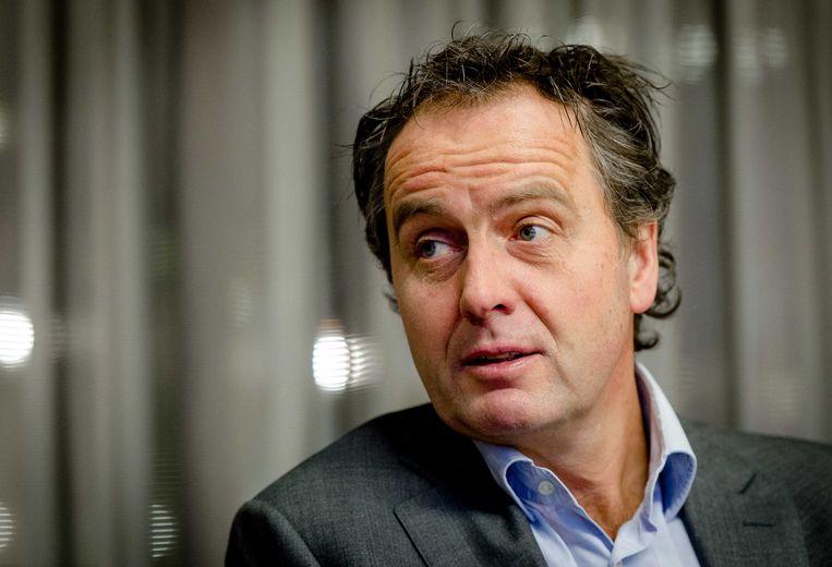 Voormalig NS-topman Timo Huges verscheen vandaag niet als getuige bij de parlementaire enquêtecommissie Fyra, omdat hij vorige week opstapte. Beeld ANP