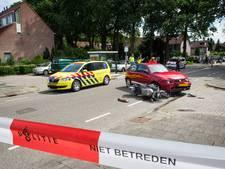 Motorrijder gewond bij frontale botsing in Bilthoven