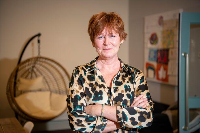 Nicole Coppens in Het Maashuis, het centrum voor kinderen en jongeren met ASS (Autisme Spectrum Stoornis).