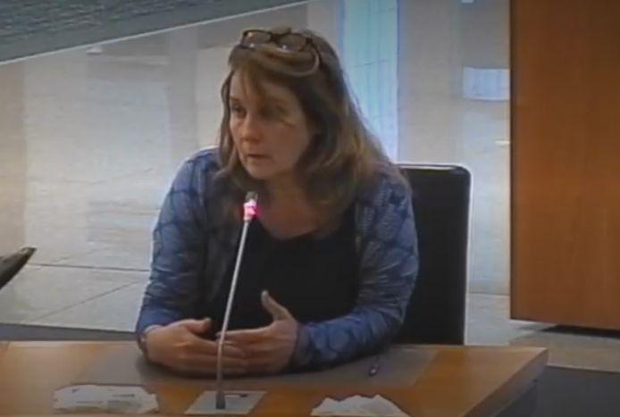 Burgemeester Moorman tijdens het beantwoorden van de vragen over het gestegen aantal klachten.