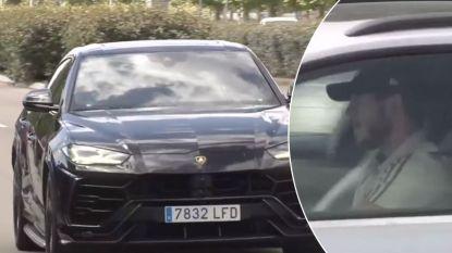 Courtois maakt zijn opwachting in Lamborghini Urus, Hazard kiest voor zijn clubwagen van Audi
