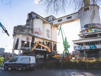 Het is zover: oude betoncentrale gaat tegen de vlakte