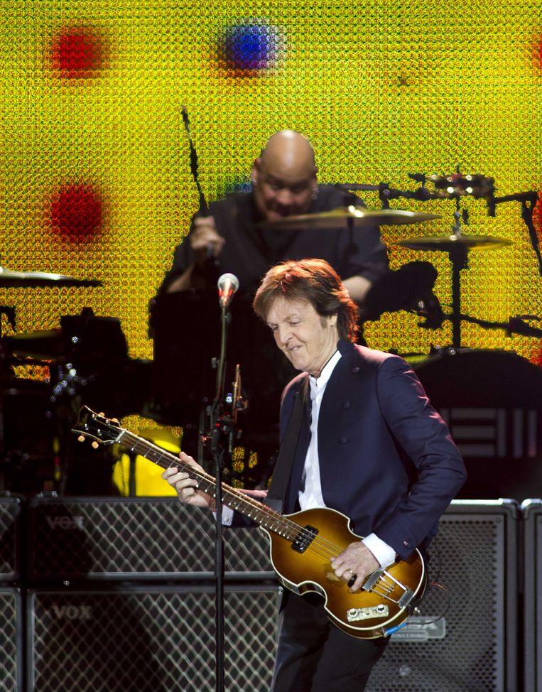 McCartney tijdens de Out There Tour in Ziggo Dome Beeld ANP
