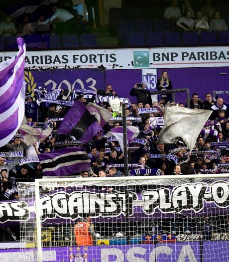 L'affaire du chant homophobe d'Anderlecht est loin d'être classée