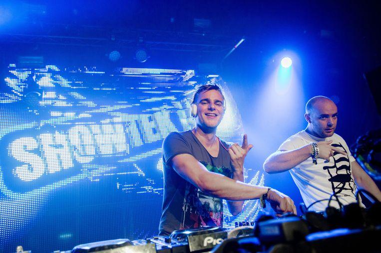 Dj-duo Showtek Beeld anp