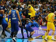 Basketbalbond deelt zware straffen uit na vechtpartij tussen Australië en Filipijnen