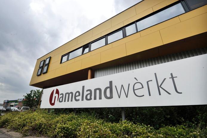 Het hoofdkantoor van Hameland in Lichtenvoorde.