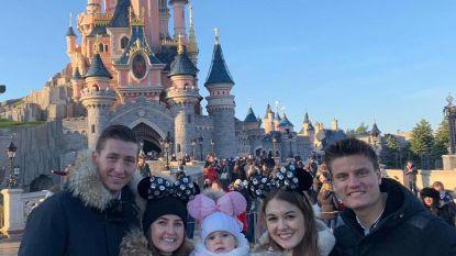 Gouden Schoen huppelt door Disneyland