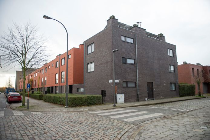 De relatief nieuwe sociale woningen in de Wilrijkse Gallaitlaan. De huurders zullen een energietoeslag moeten betalen voor de investeringen van de huisvestingsmaatschapij in energiezuinigheid.
