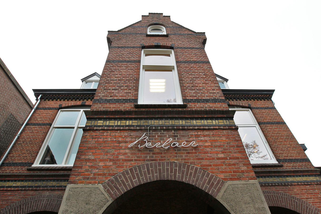 Archieffoto van restaurant Berlaer (tegenwoordig De Kasteelpoort) in Helmond.