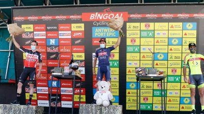 """Gianni Vermeersch wint Antwerp Port Epic: """"Dacht even dat ik sprint met drie te vroeg inzette"""""""