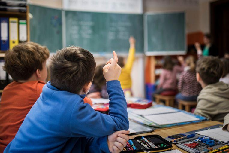 Het advies voor een nieuw onderwijscurriculum is volgens Sezgin Cihangir een vat vol compromissen.  Beeld Florian Gaertner/Photothek via Getty Images