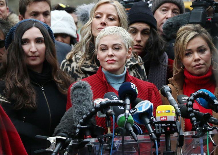 Rose McGowan wordt aangeklaagd door haar voormalige advocaat