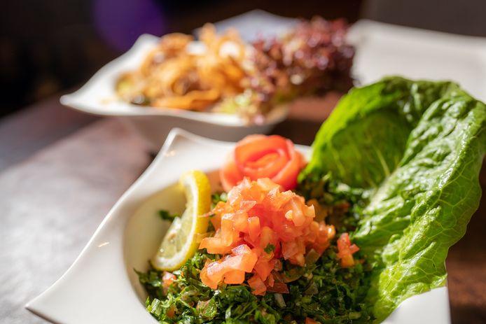 Koude mezze uit de Arabische keuken
