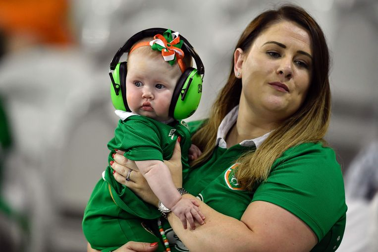 Noord-Ierse fans Beeld afp