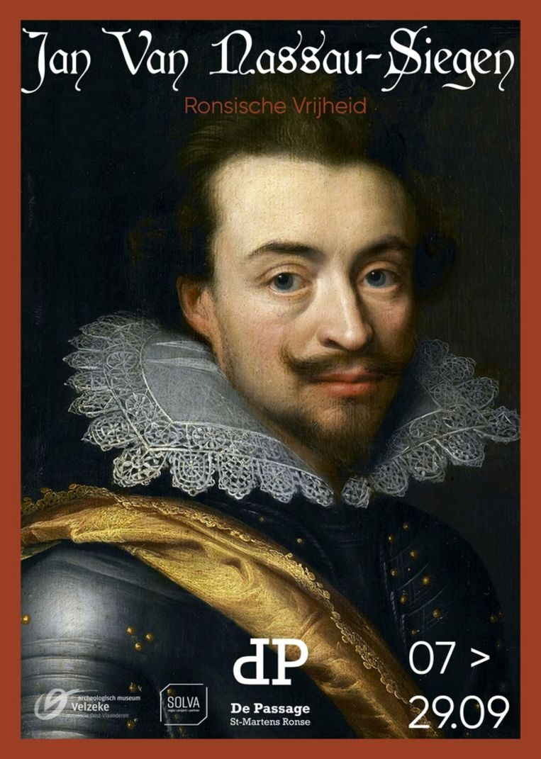 In de Passage loopt van 7 tot 29 september een tentoonstelling over Jan Van Nassau.