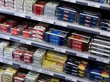 Tabak hoort bij de boodschappen