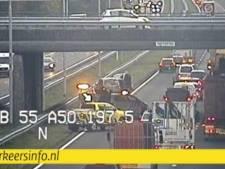 Lange file op A50 tussen Arnhem en Apeldoorn weer opgelost