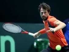 Nederlandse tennissers missen finaleweek Davis Cup na nederlaag Haase
