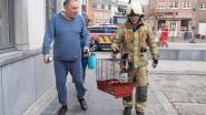 Video. Bewoners van appartementsgebouw in Oudenaarde kunnen niet naar hun flat terug na zware kelderbrand