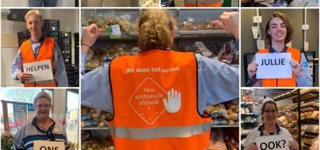 Supermarkten en drogisterijen voeren deurbeleid in