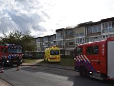 Brand in appartementencomplex in Elst