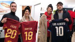 """Mevrouw Nainggolan veilt voetbalshirts voor jonge kankerpatiëntjes tijdens haar eigen strijd: """"Dit geeft me kracht"""""""