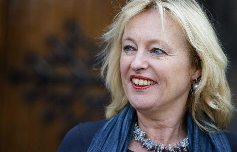 Minister Bussemaker begon het project 'Kracht on Tour'' om de economische zelfstandigheid van vrouwen te stimuleren. Beeld anp