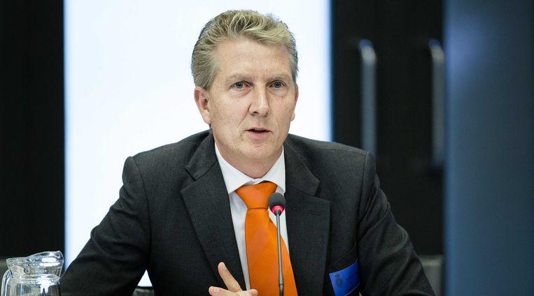 Steven Verhagen (president Vereniging Nederlandse Verkeersvliegers) Beeld anp