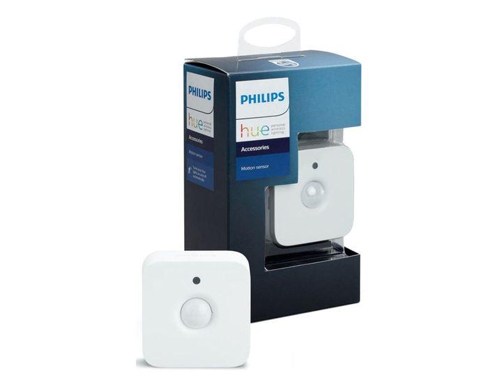 De Philips Hue Motion Sensor.