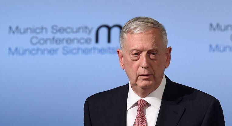 Mattis was twee jaar minister van Defensie