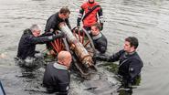 Aan Nieuwdonk steken kanonnen onder water
