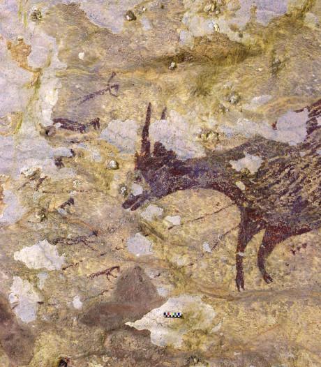 Une fresque de 44.000 ans découverte en Indonésie
