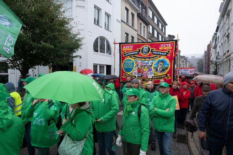 Groen of rood, de vakbonden zijn het erover eens: de pensioenplannen