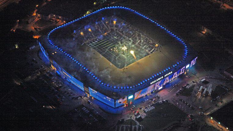 Het stadion van AA Gent.