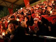 28.500 mensen komen samen in stadion van Union Berlin voor kerstliedjes