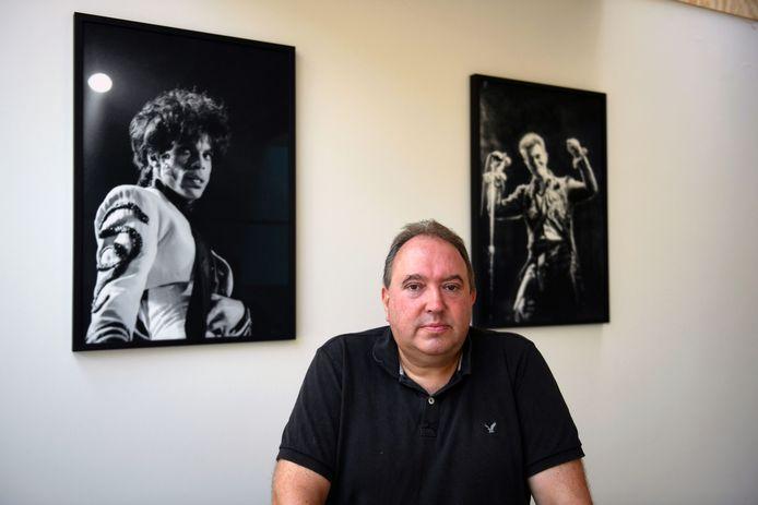Mike Naert is blij met de steun van de stad Leuven voor de cultuursector.