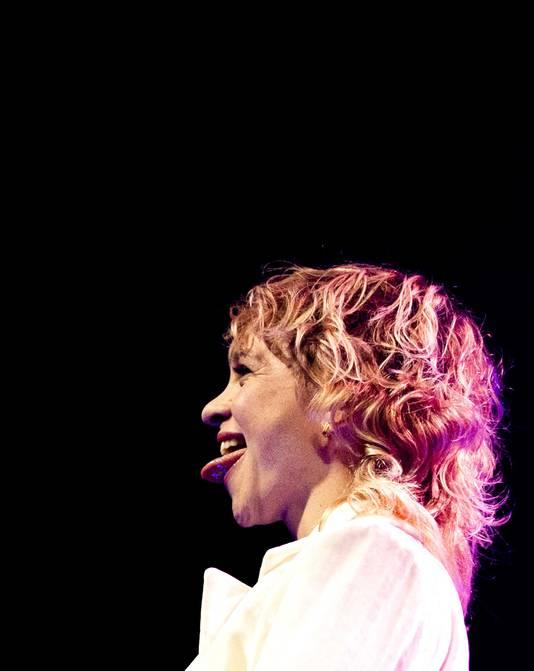 Jacqueline Govaert maakte dit jaar met Krezip haar rentree op Pinkpop.