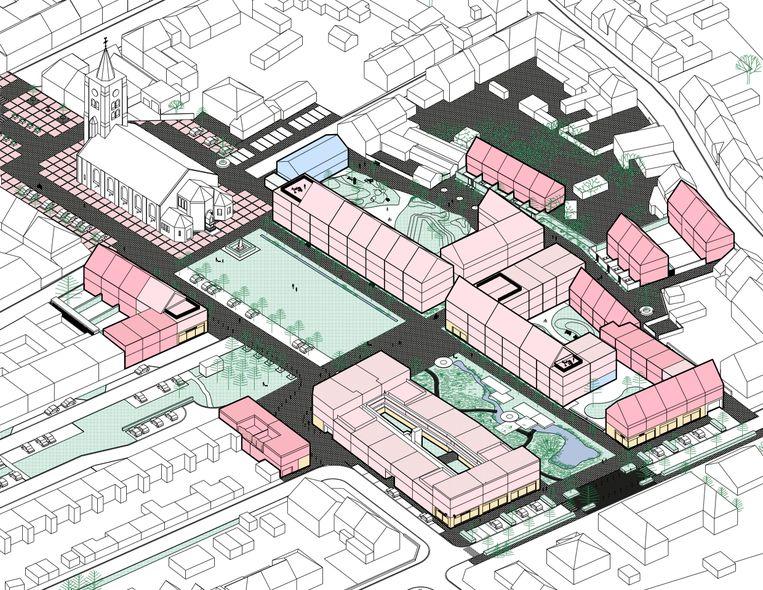 Zo zou het Hof van Eloy in Sint-Eloois-Winkel er moeten uitzien.