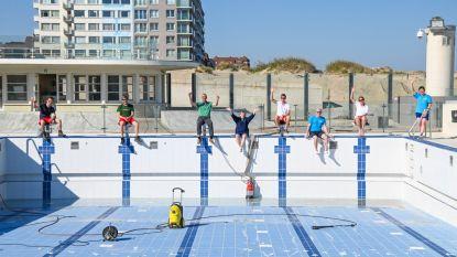 Het openluchtzwembad in Oostduinkerke is opnieuw zandvrij, maar zal het dit jaar kunnen openen?